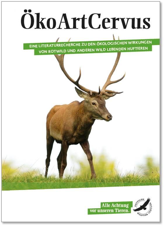 ÖkoArtCervus - die ökologische Funktion von Schalenwild