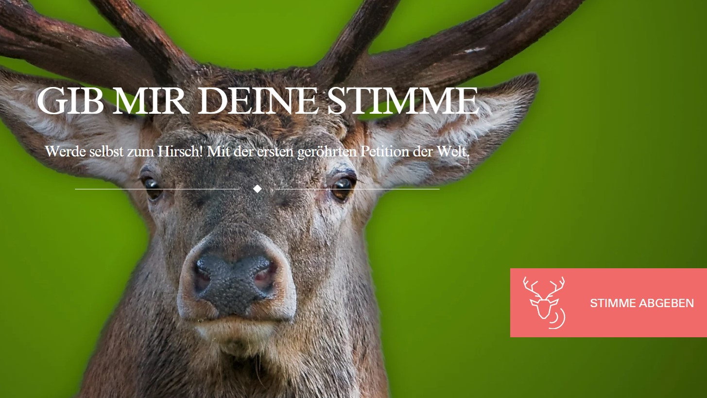 Röhr Es Raus! Petition Zur Abschaffung Von Rotwildbezirken Gestartet.